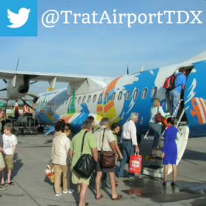 Follow Trat Airport on Twitter