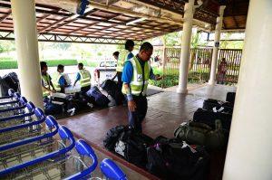 Baggage Claim, Trat Airport