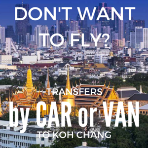 Private transfers from Bangkok to Koh Chang