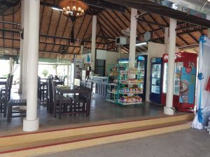 Coffeeshop and restaurant at Trat Airport