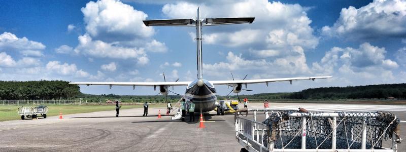 ATR Plane at Trat Airport